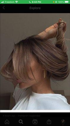 Brown Hair Balayage, Brown Blonde Hair, Light Brown Hair, Brunette Hair, Hair Highlights, Dark Hair, Brown Hair Inspo, Brown Hair Colors, Blonde Hair Looks