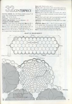 Crochet Lace with Complete diagrams - רחל ברעם - Picasa Web Albümleri