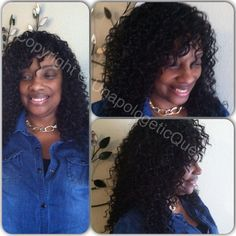 Full sew-in with no leave out. Beach curl by Milky Way  Book me! Simplysetaparthair@aol.com Twist . Rope twist , locs , natural hair , protective style, kinky twist , Afro . Two strand twist