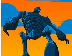 """Check out new work on my @Behance portfolio: """"Iron Giant"""" http://be.net/gallery/58753117/Iron-Giant"""