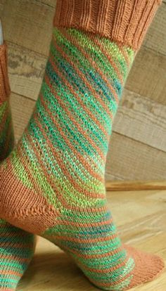 Socks of a Different Stripe - Knitting Patterns and Crochet Patterns from KnitPicks.com