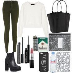 Untitled #6 by loloweed on Polyvore featuring polyvore moda style Line KG Kurt Geiger Athleta Casetify MAC Cosmetics Evian