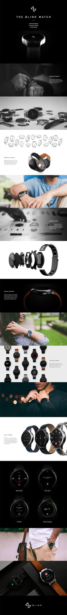 Blink Watch on Behance