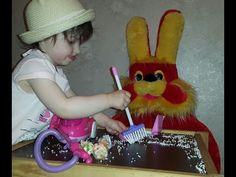 Открываем Стиральную машинку и пылесос для детей Magical play set Cleaner - YouTube