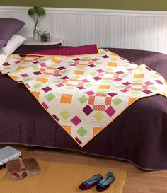 Freshly Pieced Modern Quilts: Meet the Vintage Quilt Revival Quilts: Dancing Squares