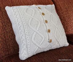 Upcycled Sweater Pillow | Maiden Jane