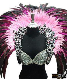 Showgirl Costume, Burlesque Costumes, Clown Halloween Costumes, Carnival Costumes, Halloween Ideas, Drag Queen Outfits, Best Drag Queens, Mermaid Parade, Vegas Dresses
