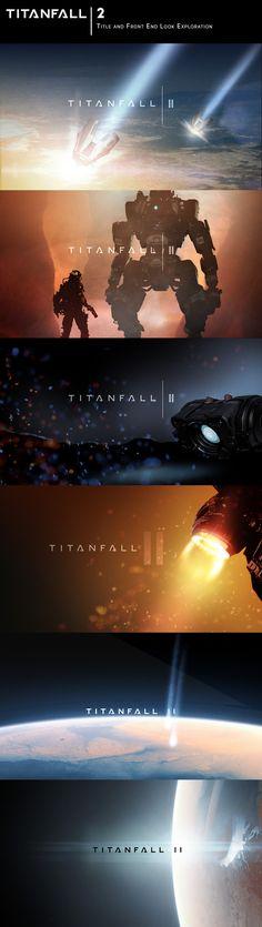 titanfall 2 iconography brad allen on artstation at https www artstation