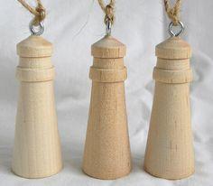 Lighthouse Pepper Mill Or Salt Grinder In Spalted Holly