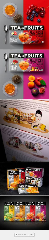 Tea & Fruits - Packaging of the World - Creative Package Design Gallery - http://www.packagingoftheworld.com/2016/04/tea-fruits.html
