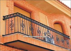 Pergola Kits Attached To House Balcony Grill Design, Balcony Railing Design, Window Grill Design, Door Design, Exterior Design, Glass Balcony, Iron Balcony, Wrought Iron Fence Panels, Window Security Bars