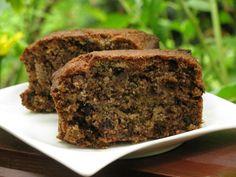 Healthy Desserts, Meatloaf, Banana Bread, Vegetarian Recipes, Food And Drink, Sweets, Vegan, Baking, Cake