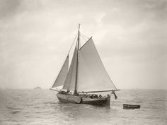Sailing off Cowes, c.1930 by Anonymous - art print from King & McGaw
