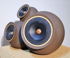 """Handmade, wireless clay speakers amplify the """"sound of the earth"""""""