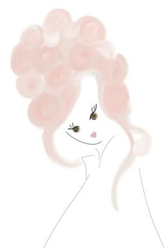 MARIE ANTOINETTE INSPIRED #HAIR #BEAUTY #FASHIONILLUSTRATION