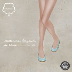 NuDoLu Ballerines des jours de pluies AD | Flickr - Photo Sharing!