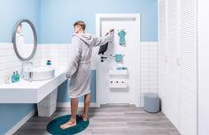 VOX Motivo - Mattone Bianco - Brick Wall Effect uPVC Bathroom Cladding. VOX premium tile effect HD bathroom waterproof wall boards. Buy From Rubberduck Bathrooms