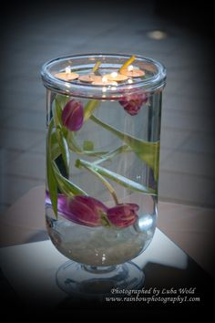 Simple, inexpensive centerpiece idea
