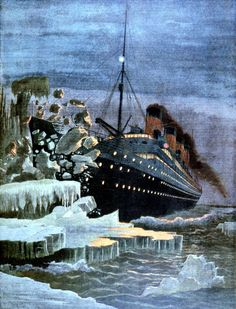 On Apr. 15, 1912, the famous British ocean liner RMSTitanic collided with an iceberg in the North Atlantic and sank two and a half hours later. It was one of the worst naval accidents in recorded history, and to this day the world looks back upon it