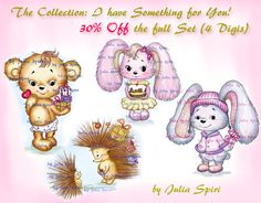 Julia Spiri Challenge Blog: New Release. The Collection: I have Something for ...