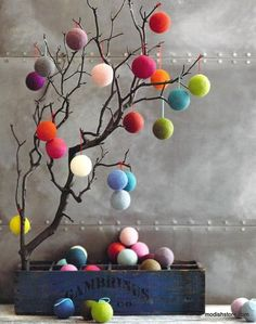 Make your Easter Decorations with dollar store items and save your hard-earned money. Here are 100 easy Dollar Store Easter Decorations that you'll LOVE. Diy Christmas Room, Christmas Crafts, Christmas Decorations, Christmas Ornaments, Holiday Decor, Diy And Crafts, Crafts For Kids, Pom Pom Crafts, Diy Ostern