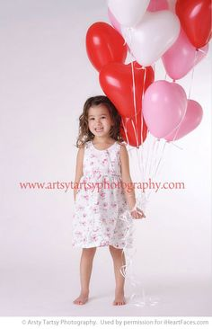 Valentine Children's Photography Session Inspiration