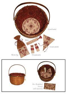Mrs. Waddelow's Needlework Basket