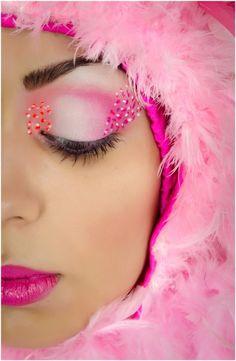 flamingo costume (make-up flamingo)