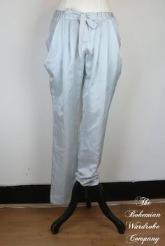 Noa Noa Sunflower Sateen trousers in Gray (1-0440-1) £85.00