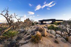 * The Black Desert House by Marc Atlan + Oller & Pejic | iGNANT.de