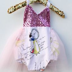 A Princess Story is one of our newest #sparklerompers  We can't wait to see your princesses wearing this sweet piece!  Order at bellethreads.com