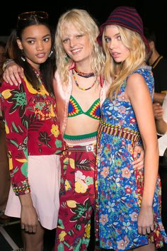 Tommy Hilfiger at New York Fashion Week Spring 2016 - Backstage Runway Photos