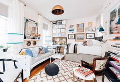 A Small-Space Apartment for Work and Play | Architectural Digest