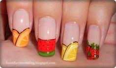 Sun after Storm #nail #nails #nailart