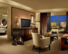 Bellagio Towers 1 bedroom suite is a great way to stay in Vegas.