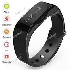 New Dulife Wisdom Health Wristband Smart Bracelet Sports Pedometer Men Women Smart Watch f IOS/Android Phone WWT-345376