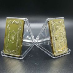 We add New Fensy items  3 pcs  US Dollar ...  http://www.possto.com/products/3-pcs-us-dollar-500-bar-gold-plated?utm_campaign=social_autopilot&utm_source=pin&utm_medium=pin