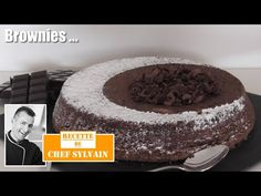 Brownies - Recette facile par Chef Sylvain - YouTube Brownies, Baking, Desserts, French, Food, Pie, Thermomix, Cake Brownies, Tailgate Desserts