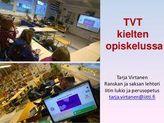 TVT kieltenopiskelussa by Tarja Virtanen