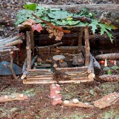 Beautiful weather today had me thinking about how the girls and I could fancy up our fairy houses in the spring. Tracy Kane's books are wonderful, as is her website.