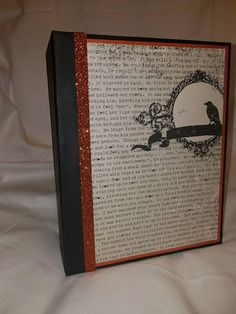 Check out this item in my Etsy shop https://www.etsy.com/listing/532754352/halloween-album-halloween-mini-scrapbook