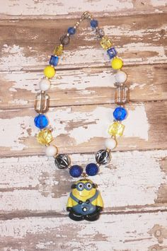 Custom Boutique Despicable Me  Minion by StinkyPinkCreations, $19.00