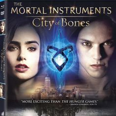 The cover art for TMI City of Bones Blu-Ray and DVD (coming Dec. 3 from Sony Pictures)
