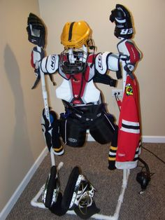 Hockey Gear Drying Rack