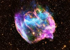 Supernova Remnant W49B - A supernova remnant called W49B 26,000 light-years away may contain the most recent black hole formed in the Milky Way galaxy, new data from NASA's Chandra X-ray Observatory suggests.    The remnant, about a thousand years old as seen from Earth, appears to be the product of a rare explosion in which matter is ejected at high speeds along the poles of a rotating star.