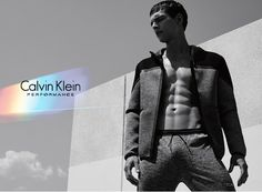 Brazilian model Alexandre Cunha fronts the Fall/Winter 2015 campaign of Calvin Klein Performance.