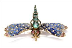 Dragonfly brooch, 1890-1900 Anderson Collection of Art Nouveau **.