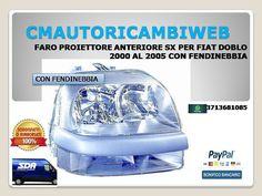 FARO FANALE PROIETTORE ANTERIORE ANT SINISTRO SX FIAT PANDA 12/> DAL 2012 IN POI