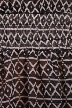 boho dress detail