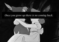 Peter Pan quote... Grad Cap Decor idea